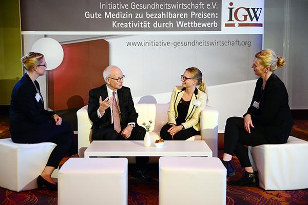 IGW auf dem Gesundheitwirtschaftskongress
